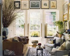Michael Bastian living room. Domino.com