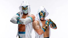 The Lucha Dragons, Sin Cara & Kalisto, have ignited WWE with their exciting offense and dazzling masks.