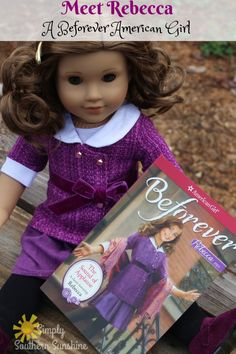Come and meet Rebecca Rubin American Girl doll. She is beautiful, talented, and unique like all the American Girl's!