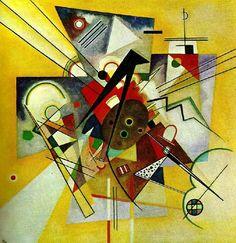 Wassily Kandinsky - Accompagnement jaune, 1924.