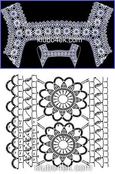Crochet And Join Easy Flower MotifsLeaf and Lace Baby Set Free Knitting Pattern .Stricken: 100 Strickideen mit An Col Crochet, Gilet Crochet, Crochet Collar, Crochet Diagram, Crochet Woman, Irish Crochet, Crochet Motif, Crochet Stitches Patterns, Knitting Patterns