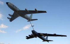 KC-135 Refueling B-52