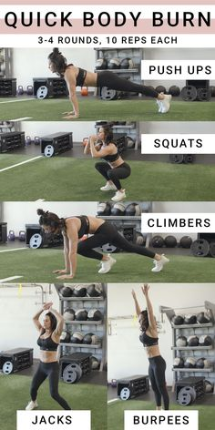 Full Body HIIT Workout Full Body HIIT workout no equipment needed! Use as an at home workout, or bust it out at your gym! Be sure to grab your SHEFIT, and turn on some tunes! The post Full Body HIIT Workout appeared first on Ruby Sanders. Hitt Workout, Full Body Workout At Home, Hiit Workout At Home, Gym Workouts, At Home Workouts, Workout Body, Hotel Room Workout, Home Hiit, Body Weight Workouts