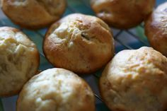 Banana muffins are a very easy muffin for vegans to make because the banana can act as a binder and provide moisture instead of eggs. So you don't needs eggs or even egg-replacer!