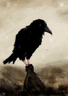 The Crow by ~loysa (love the socks!):