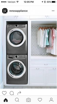 7 Small Laundry Room Design Ideas - Des Home Design Tiny Laundry Rooms, Mudroom Laundry Room, Laundry Room Layouts, Laundry Room Remodel, Laundry Room Organization, Laundry Room Design, Laundry In Bathroom, Laundry Storage, Storage Organization