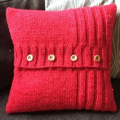 PDF KNITTING PATTERN, Chunky knit Pillow Cover pattern, Rib Panel and : Käuferfoto jennasayquoi (Artikel wurde mit der Etsy app for iPhone bewertet) Chunky Knitting Patterns, Knitting Blogs, Knit Patterns, Knitted Cushion Pattern, Knitted Cushions, Mobiles En Crochet, Crochet Mobile, Crochet Phone Cover, Pillowcase Pattern