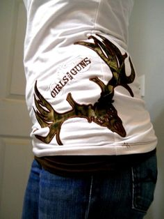 Tell Austin to make some shirts with his logo or something on the hip like this!!! LOVE IT!