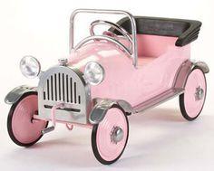 Pink Princess Car for Kids