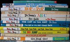 Dr. Seuss Lot 13 HC Books VG Bright and Early Beginner What Was I Scared Of Cat