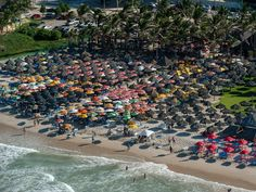 Fortaleza is another coastal city in northeastern Brazil that's renowned for its beautiful beaches.