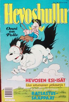 Hevoshullu ja Polle sarjikset! Finnish horse enthusiast magazine for kids/teens