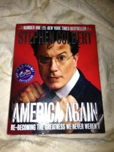 Colbert and a chuckle on #fridayreads for @Anj_T.