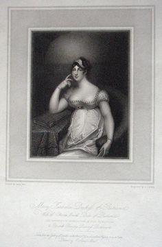 Mary Isabella, Duchess of Rutland (she was the wife of Charles, the fourth Duke of Rutland)