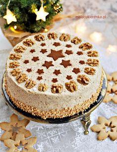 Tort makowo – orzechowy bez laktozy Tiramisu, Vegan, Cake, Ethnic Recipes, Food, Products, Kuchen, Essen, Meals