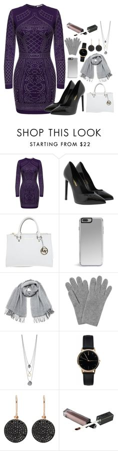 """""""Untitled #944"""" by sarelle-20 ❤ liked on Polyvore featuring Yves Saint Laurent, Michael Kors, Vero Moda, L.K.Bennett, Freedom To Exist and Astley Clarke"""