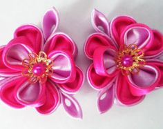Gorgeous Peacock Hair Clips by AccessoriesShop4you on Etsy