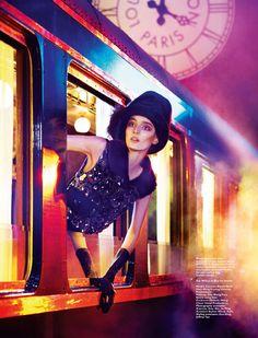 Zuzanna Bijoch for Loius Vuitton. Harper's Bazaar Singapore October'12