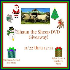 Shaun the Sheep DVD/Blu-Ray Set (12/13 US)