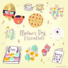 weplaydots:  Happy Mother's Day!