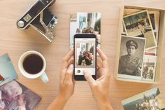 Heirloom App via digitaltrends: Transform your photographic prints into beautiful digital images.  using your smartphone's camera. Capture, organize and share. #App #Photography #Scanner