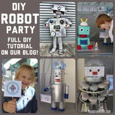 DIY Robot Party