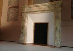 cheminée de marbre