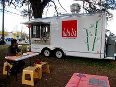 partial wrapping, add buntings and EAT sign Vegan Friendly Restaurants, Vegan Restaurants, Austin Food, Austin Tx, Vegetarian Fish Sauce, Vietnamese Sandwich, Types Of Sandwiches, Green Cafe, Eat Sign