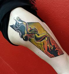 Skin Deep Tales - Onnie O'Leary Tattoos love this!