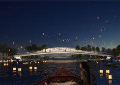 Gallery of MVRDV Reveals Design For Dawn Bridge, A 80m-Long Dual Use Crossing in Shanghai - 9