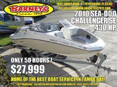 Used 2010 Sea Doo 230 Challenger Se (430 Hp), St. Petersburg, Fl - 33702 - $28000 BoatTrader.com