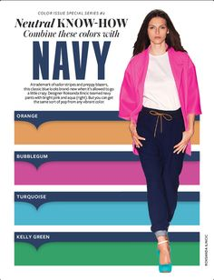 I have always enjoyed mixing colors so when I saw this in the April issue of InStyle I had to share. Colour Combinations Fashion, Color Combinations For Clothes, Fashion Colours, Color Combos, Color Mix, Color Schemes, Instyle Magazine, Color Pairing, Color Stories