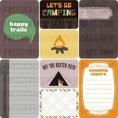 Free Camping Journaling Cards