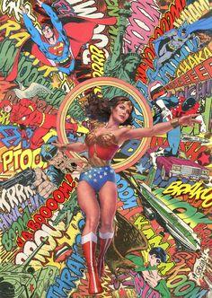 Wonder Woman by Mr Garcin -2015- https://www.facebook.com/pages/Mr-Garcin/130673103658037?ref=hl
