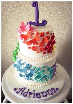 Butterflies  - Cake by Dorje Desserts