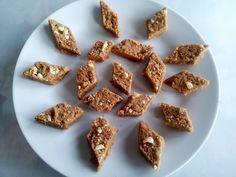 1234 burfi. Add a teaspoon of cocoa powder, to make chocolate burfi.