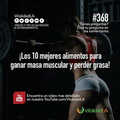 Comer proteína ayuda a construir y mantener el músculo. Pero también ayuda a la pérdida de grasa  Comer grasas también ayuda a la pérdida de grasa. De hecho sabias que tu cuerpo retiene grasa si no comes grasas saludables.  Las frutas y verduras contienen vitaminas y minerales necesarios para la recuperación de tus músculos y así rendir mejor en tus entrenamientos.  Y finalmente los carbohidratos alimentan tus músculos para que tengas energía.  Asi es que no se te olvide que para construir…