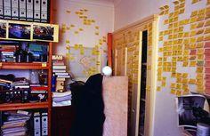 Will Self's writing room.