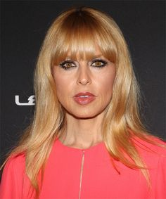 Rachel Zoe Hairstyle - Casual Long Straight. Click on the image to try on this hairstyle and view styling steps!