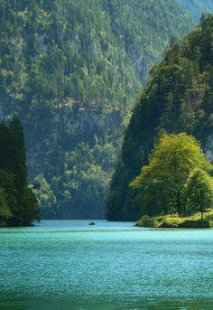Lake Königssee, Bavaria, Germany