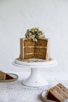 Dreamy & Delicious Cookie Butter Cake Cookie Butter Cake Recipe, Homemade Cookie Butter, Speculoos Cookie Butter, Butter Pie, Homemade Cookies, Yummy Cookies, Cake Ingredients List, Baking Pan Sizes, Biscoff Cake