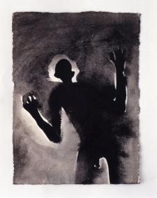 Antony Gormley's drawing Signal I Present Drawing, Howard Hodgkin, Turner Prize, Antony Gormley, Museum Exhibition, Weird And Wonderful, Mark Making, Figurative Art, Art Inspo
