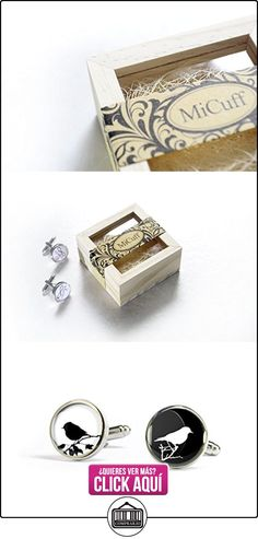Hecho a mano de árbol bird - Gemelos para regalo para él - plata - caja de madera  ✿ Joyas para niños - Regalos ✿ ▬► Ver oferta: https://comprar.io/goto/B01AHWMJ3G