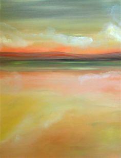LightPath {Title} 30 x 40 - Ecofriendly Original Oil Painting