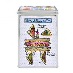 Boîte à pains de mie DLP blanche