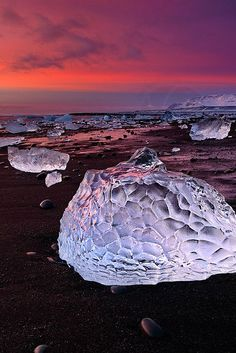 Ice Shapes, Iceland