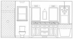 15 Best Bathroom Elevations Images Elevation Drawing