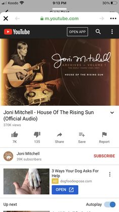 Youtube Open, House Of The Rising Sun, Open App, Sunrise, Music, Movies, Musica, Musik, Films
