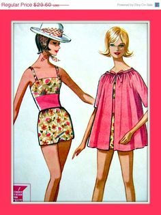ON SALE Vintage Sewing Pattern  McCall's 6861  Midriff by anne8865, $25.16