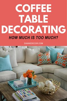 Coffee table decorating has evolved from a place to serve coffee to a decorative focal point for your living room. But, is it too much?    #coffeetabledecorating #coffeetable #coffeetabledecor #tabletopdecor #coffeetablestyling #homedecorating #coffeetableideas Coffee Table Styling, Decorating Coffee Tables, Coffee Table Inspiration, Shared Rooms, Diy Room Decor, Home Decor, Shopping Hacks, Decorating Tips, Entertaining